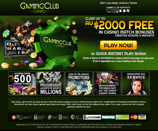 Gaming Club Online